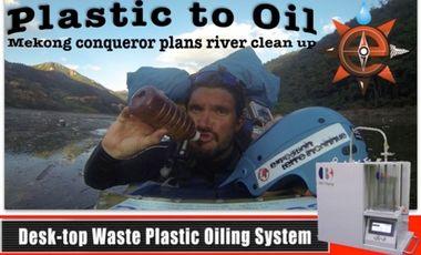 Visuel du projet Plastic to Oil
