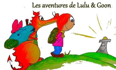 Project visual Lulu & Goon: La légende du Phare     -   Livre alternatif jeunesse