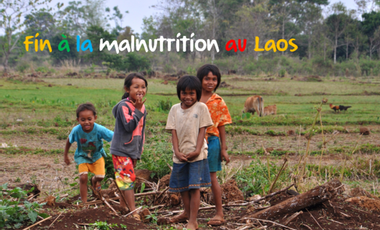 Visueel van project 100 000 rations alimentaires pour le Laos