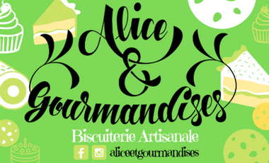 Project visual Alice & Gourmandises