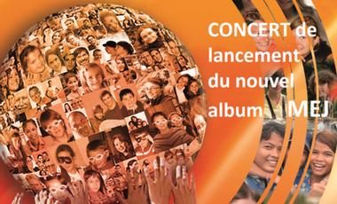 Project visual CONCERT nouvel album MEJ !!