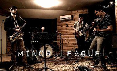 Project visual Minor League - Enregistrement du 1er EP