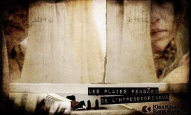 """Visuel du projet Deviens producteur du court métrage rap """"Les plaies pensées de l'hypocondriaque"""""""