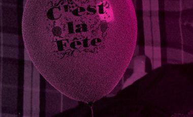 Visueel van project C'est la fête.