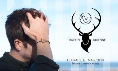 Visueel van project Maison Julienne : Le Bracelet Masculin Éthique & Made In France