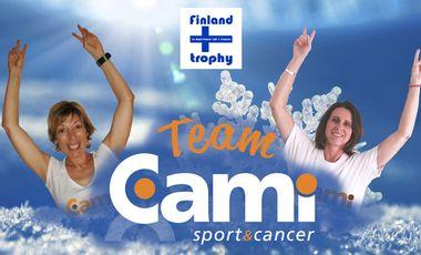 Project visual Revanche sur le Cancer, la TEAM CAMI à l'assaut du Finland Trophy