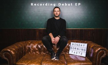 Project visual Monday Morning Taste: Recording of my debut EP