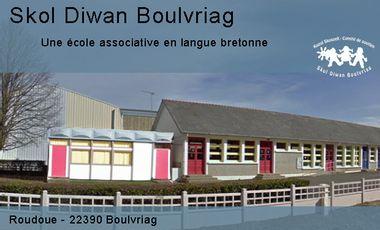 Project visual Une école Diwan à Bourbriac