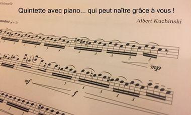 Visueel van project Création du Quintette avec piano de Albert Kuchinski