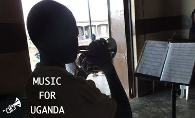 Project visual Music For Uganda