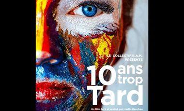 Visuel du projet 10 ans Trop Tard.