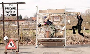 Project visual Une Brique dans le Ventre (A Brick in the Belly)