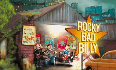 Project visual Salade de fruits et spaghetti, le nouvel album des Rocky Bad Billy