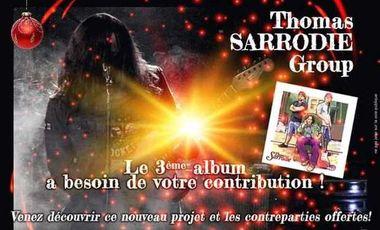 Visueel van project 3ème Album Thomas Sarrodie Group