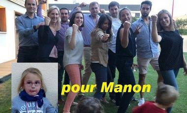 Project visual un Marathon pour Manon!