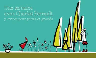 Visuel du projet une semaine avec Charles Perrault