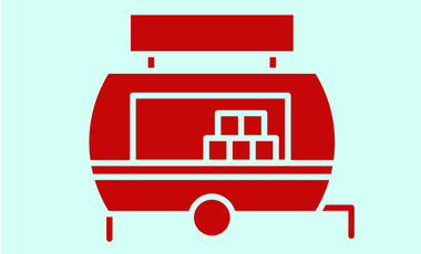 Project visual Red Hot - Vintage Food Truck