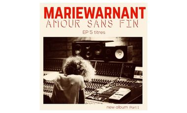 Visueel van project MARIE WARNANT - EP AMOUR SANS FIN