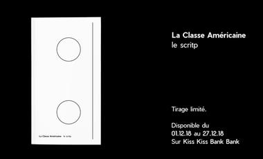 Visueel van project La Classe Américaine     le scritp