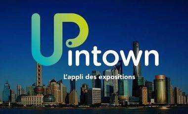 Visueel van project UPINTOWN : l'appli qui rend les expositions accessibles à tous !