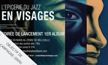 Visueel van project 1er Album - l'Epicerie du Jazz