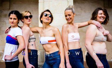 Visuel du projet Les Petits Saints : Des bandeaux pensés pour les minis boobs !