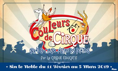 "Project visual ""Couleurs de cirque"" par Le Cirque éducatif"