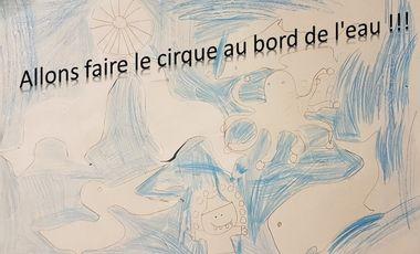 Visuel du projet Allons faire le cirque au bord de l'eau