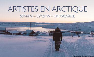 Visueel van project Artistes en Arctique - Un passage