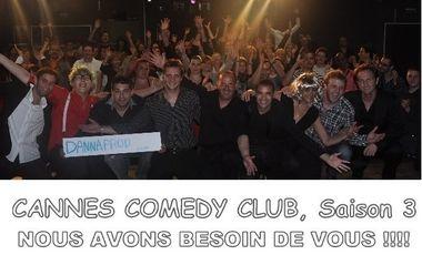 Visuel du projet Cannes Comedy Club saison 3