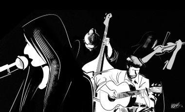 Visuel du projet Vidéo du Cuarteto Berretin en animation 2D réalisée par Nicolas Balas
