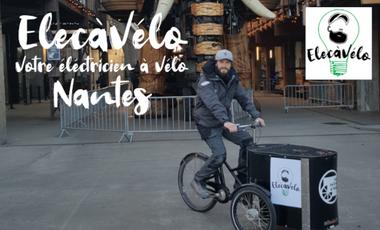 Visuel du projet ElecàVélo - L'électricien à Vélo dans Nantes