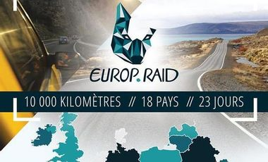 Project visual Europ'Raid : Le rallye humanitaire