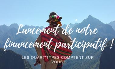 Visueel van project Les Quart'Types au Pérou !