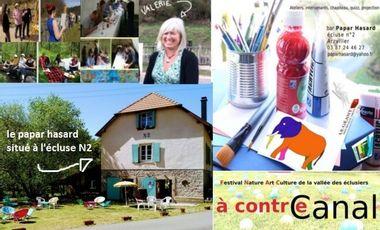 """Project visual """"A Contre Canal"""" le festival du Papar Hasard"""