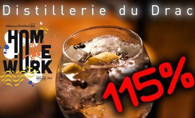 Visueel van project Homework : Le Gin de la Distillerie du Drac (Alpes)
