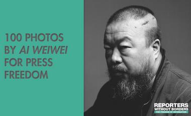 Visuel du projet 100 photos de Ai Weiwei pour la liberté de la presse