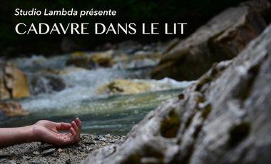Project visual CADAVRE DANS LE LIT  court métrage