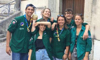 Visueel van project Des scouts au Bénin !