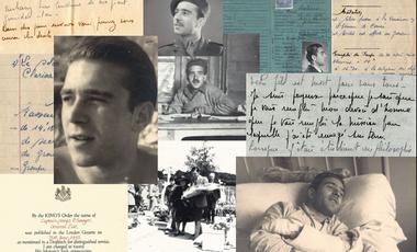 Project visual Le héros de la famille. Paul Sarrette, chef d'un maquis de mille hommes à 22 ans