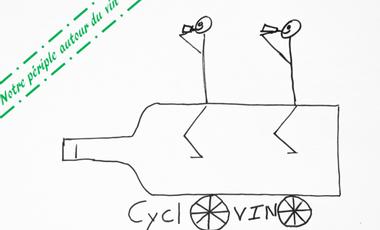 Visueel van project Cyclovino - notre périple autour du vin