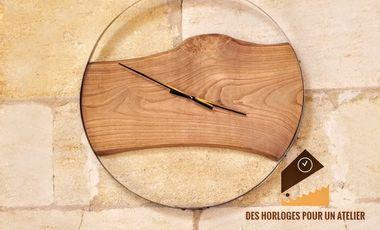 Project visual Des horloges pour un atelier