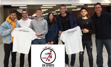 Visueel van project EM Sports: It's for Morocco