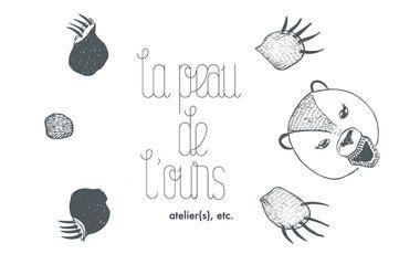 Project visual La Peau de l'Ours. Ateliers, etc.