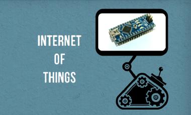 Visueel van project Internet of things