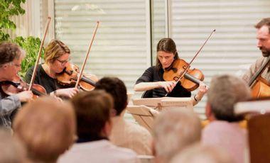 Project visual Des concerts pour les séniors