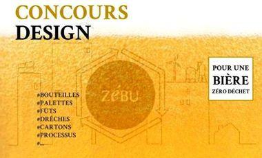 Project visual Concours de Design ZéBU : pour une filière brassicole zéro déchet