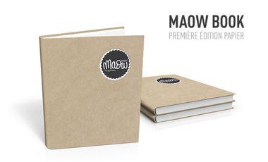 Visueel van project MAOW BOOK * première édition papier