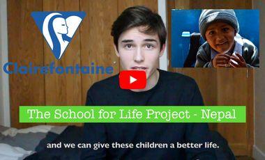 Visueel van project School for Life Project