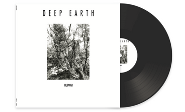 """Visueel van project Hubwar, """"Deep Earth"""" l'album en vinyle. Objectif atteint ! Nouvel objectif 2000€"""